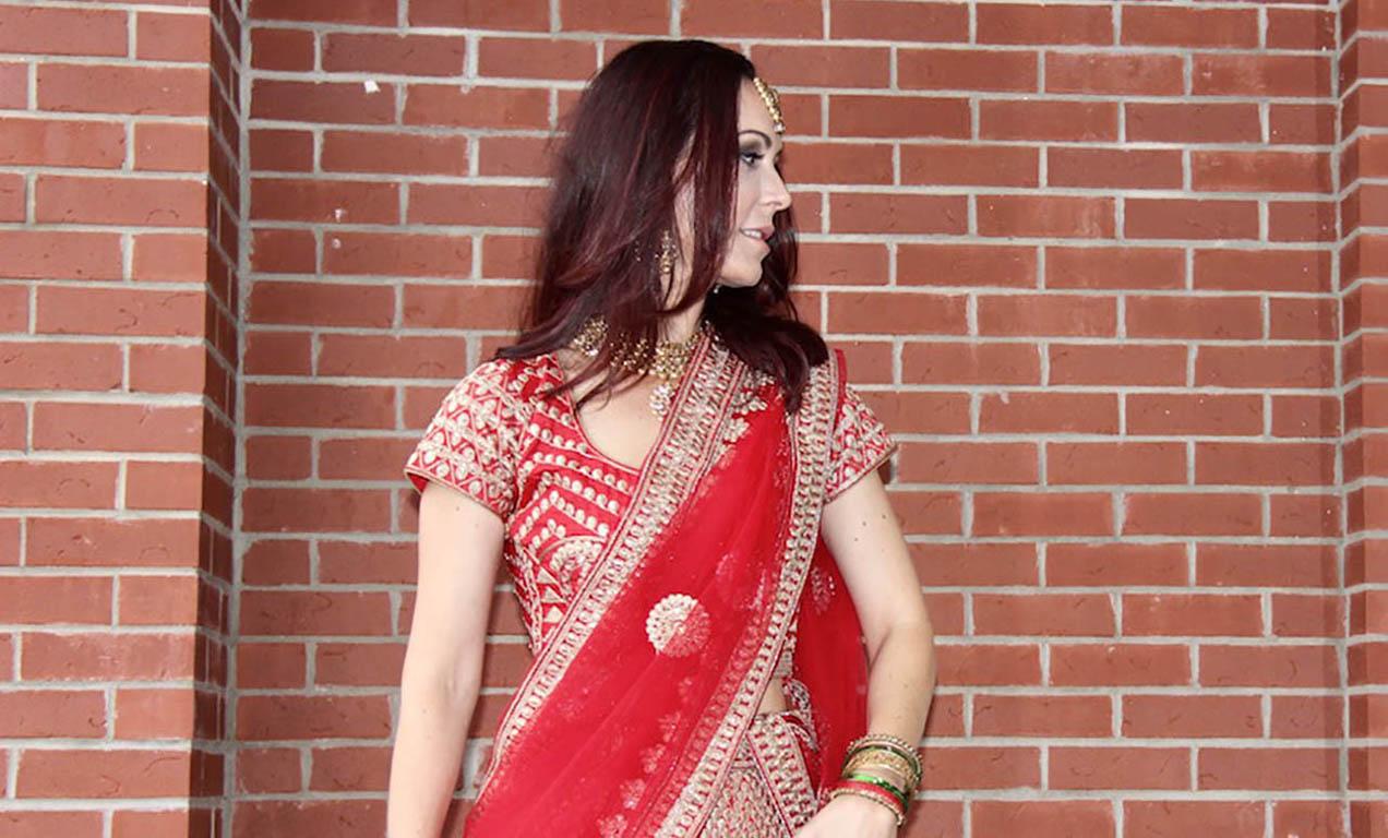 Look do dia - Lehenga para um Casamento Indiano!
