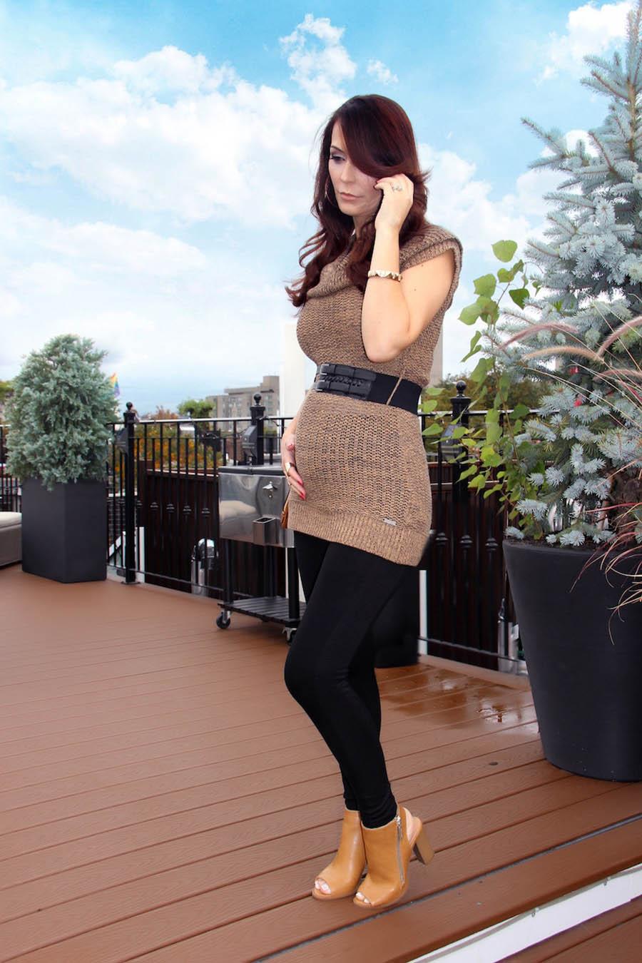Look casual e confortável para grávidas! Papo de Mãe :-)
