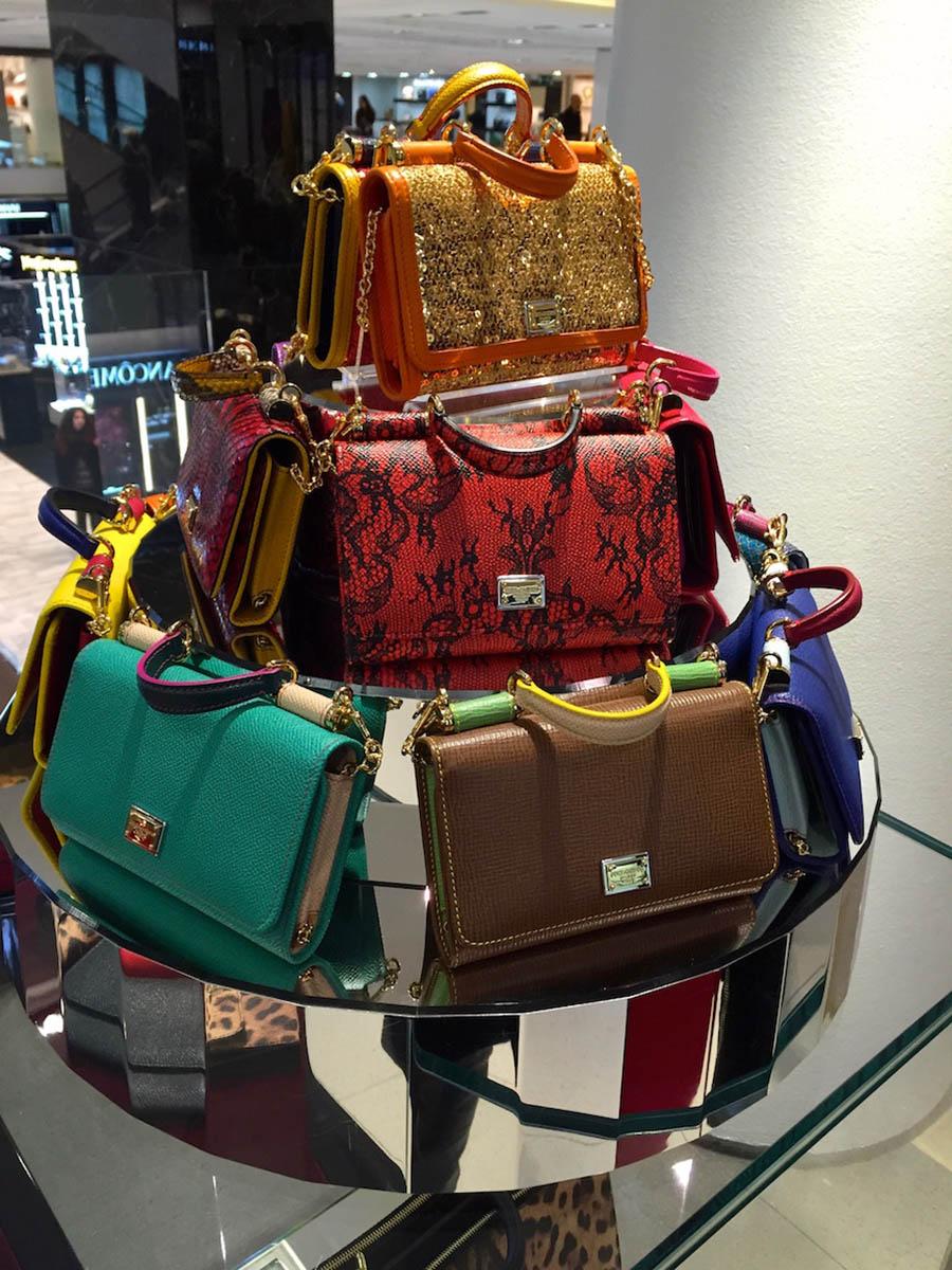 Bolsas lindas da coleção Dolce&Gabbana!