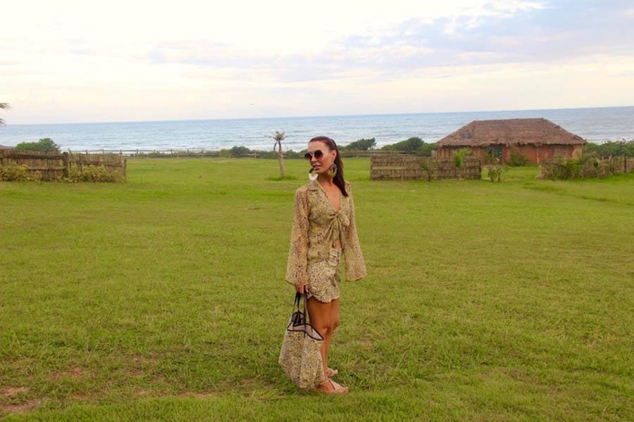 Look Praia by Larissa Minatto - Estampa Leopardo!