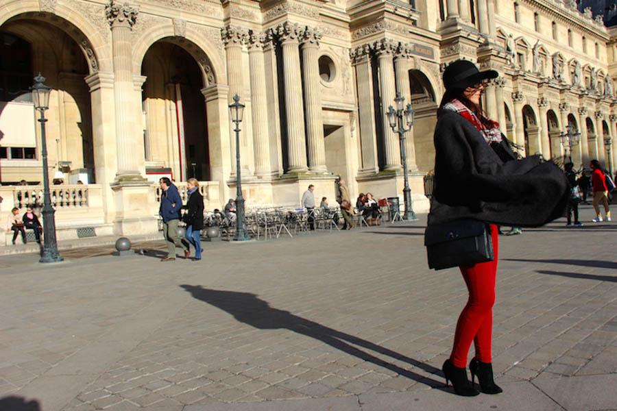 Look Paris - Poncho (A Peça do momento)